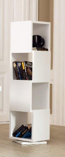 TemaHome, Shell, Libreria, Bianco Opaco, 40 x 40 x 156 cm