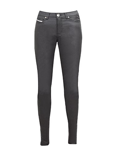 John Doe Pantalones Betty XTM | Pantalones de Moto | XTM | Protectores utilizables | Transpirable | Vaqueros de Moto | Vaqueros Vaqueros elásticos
