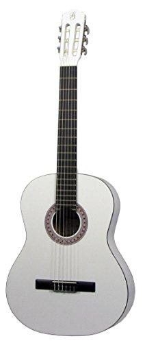 Gómez 001 wh 4 44/4 Guitarra clásica tamaño completo - blanco
