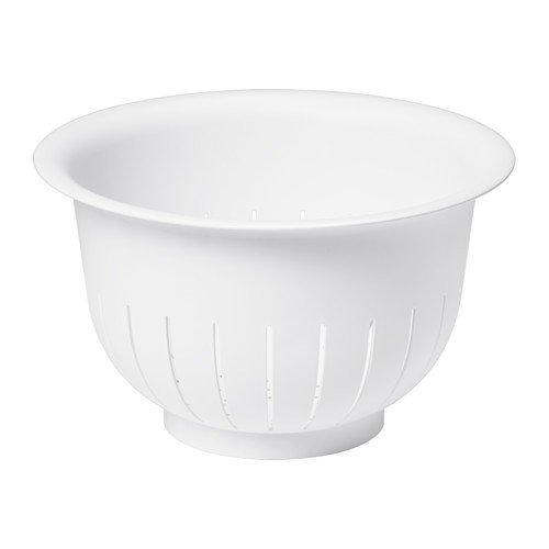 IKEA VISPAD Durchschlag in weiß