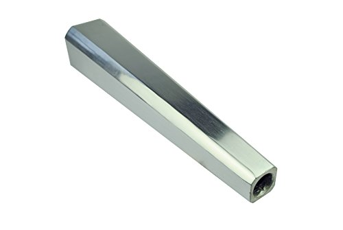 Proops 38,1cm großes Schmuckherstellungs-Werkzeug, quadratischer Armreif-Spanndorn aus poliertem Metall, (J1194)