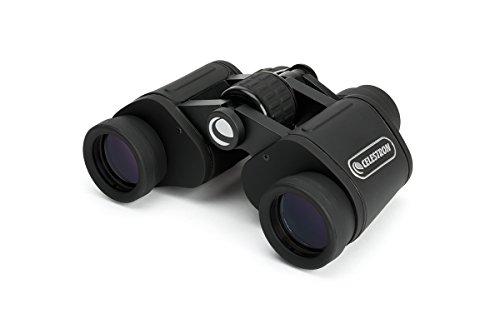 Celestron UpClose G2 - Prismático terrestre (7X 35 mm de diámetro, Aumento 7X y Distancia Ocular 13 mm) Color Negro