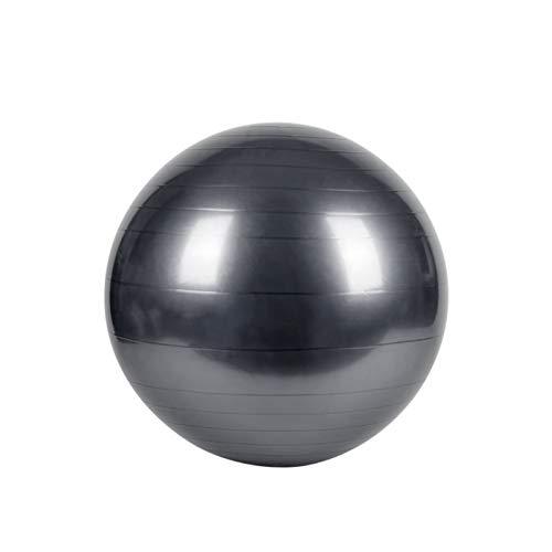 Silla de bala de ejercicios 65 cm de yoga Fitness Pilates Ball, Mejorar el equilibrio, Diseño anti Ráfaga, para el entrenamiento de fuerza y fortaleza del núcleo y terapia física ( Color : Silver )