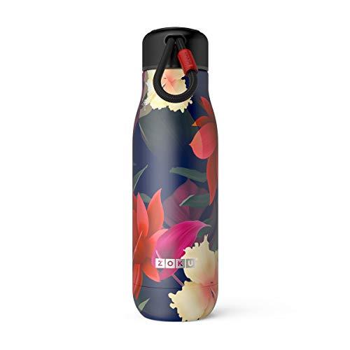 Zoku 20oz/500ml Paradise vuoto isolato SS bottiglia, ZK142