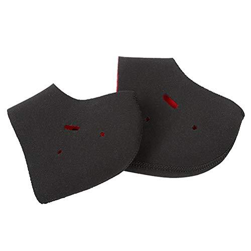 Roexboz Protector de talón para dolor de talón transpirable, protector de talón, vendaje para espolones calcáneos, calcetines para reducir la presión.