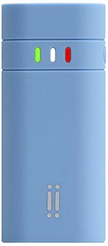 Aiino Universal Power Bank 2600 mAh USB -, 5200 mAh, 5200 mAh, blauw