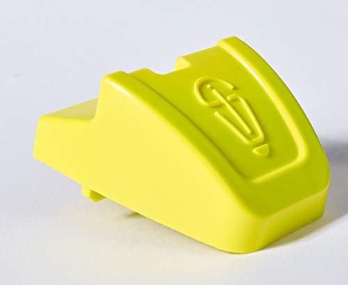 SCHMIDINNOVATION Rolladensicherung Einbruchsicherung Hochschiebeschutz Rolladenklemme Rolladenschutz Fenstersicherung (gelb)