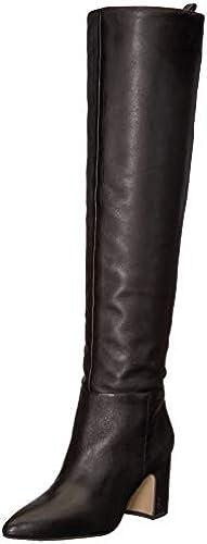 Sam Edelman damen& 039;s Hutton Knee High Stiefel, schwarz Leather, 10 M US