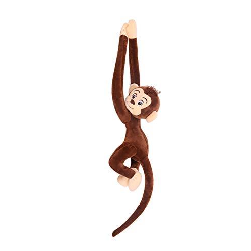 Sweety Huggers, Mono Colgando de Juguete Suave (62 cm) - Juguete de Peluche Suave y tierno. Hecho de Botellas de plástico recicladas niños