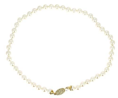 NEUMANN Perlenkette Bella - Made in Germany - (Creme) Kollektion Bellanata® creme - ein komplettes Geschenk für sie, Geschenke für Frauen
