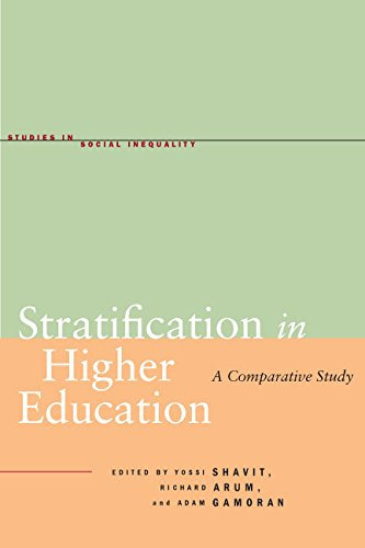 Stratification in Higher Education: A Comparative Study (Studies in Social Inequality)