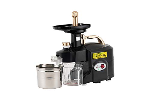 Green Power Super Performance Industrial Juicer Wheat grass,Vegetable & Fruit Juicer with 3 filters Black