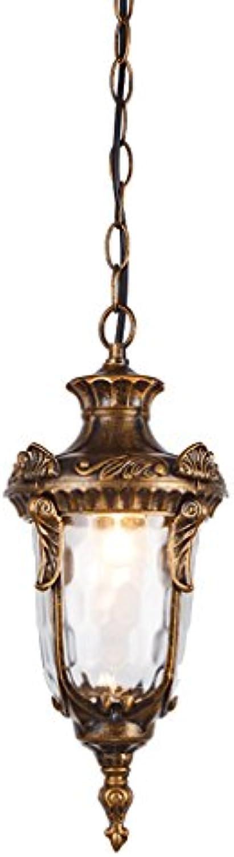 Chandelier Aluminiumwasserdichter Leuchter, Patio-Kronleuchter-Dekorations-Leuchter im Freien hngende Kette 55CM justierbar (gre   16  37cm)