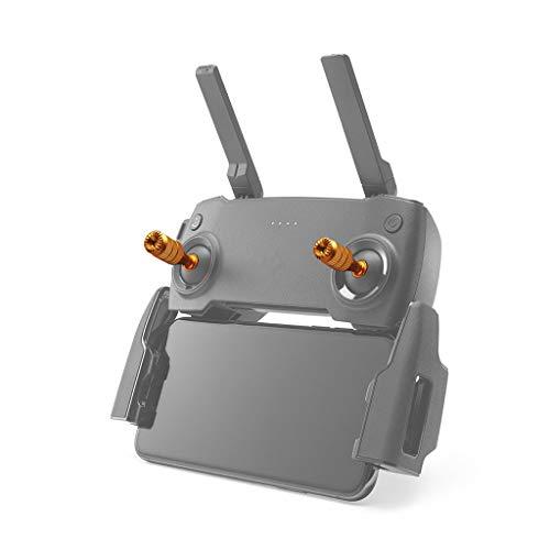 Luccase 1 Paar Gold Fernbedienung Joysticks Kompatibel mit DJI Mavic Mini Aluminiumlegierung Fernbedienung Einstellbare Legierung Daumen Rocker Stick