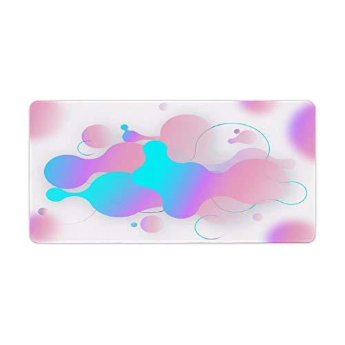 Alfombrilla de ratón, almohadilla de escritorio, teclado, almohadilla de café. La imagen se puede personalizar. El exquisito mouse pad hace que su trabajo y juegos sean más eficientes y más cómodos.
