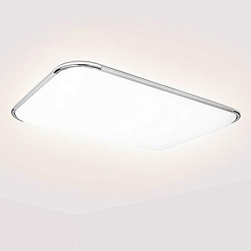 Hengda 48W LED Deckenleuchte Neutralweiß 4000K Deckenlampe 4080LM, LED Lampe für Wohnzimmer Bad Schlafzimmer Küche Büro Esszimmer, Küchenlampe IP44 Wasserfest