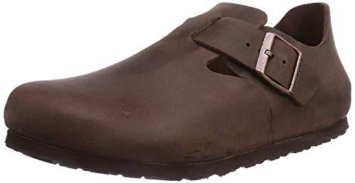 Birkenstock Shoes Birkenstock Shoes Unisex-Erwachsene London Oxford, Braun (Habana), 42 EU