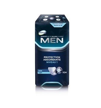 VAT EXEMPT Tena Men Level 1 Super Saver 6 Packs Of 24 by Tena