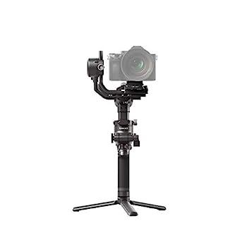 DJI RSC 2 - 3-Axis Gimbal Stabilizer for DSLR and Mirrorless Camera Nikon Sony Panasonic Canon Fujifilm 6.6 lb Payload Foldable Design Vertical Shooting OLED Screen Black