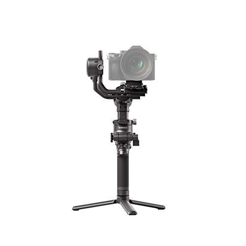 DJI RSC 2 - Estabilizador Gimbal de 3 Ejes para Cámaras sin Espejo y DSLR, Nikon Sony Panasonic Canon Fujifilm, Ronin SC, Carga de 3 kg, Captura Vertical, Pantalla Táctil - Negro