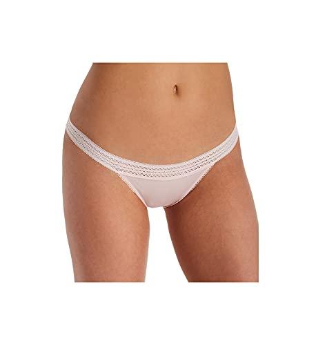 DKNY Herren Classic Cotton Lace Trim Unterwäsche im Bikini-Stil, Lotus, X-Large