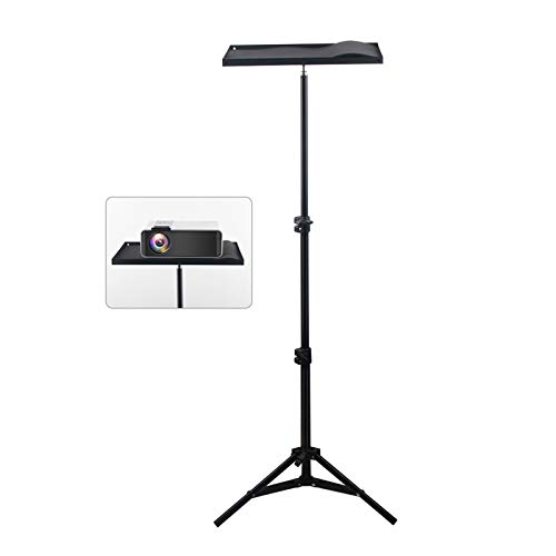 Multifunction Projector Laptop Stand, 110cm 160cm Universal Portable Projector Bracket Projector Tripod Stand Mount Laptop Camera Projection Tripod (Color : 110cm)
