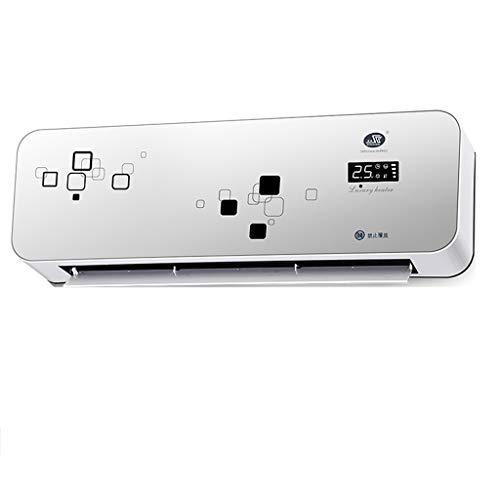 Kleine mobile Wand-Badezimmerheizung, 3000W digitalen Bildschirm, intelligente Thermostat mit Fernbedienung, kann 40 Quadratmeter Raum erhitzen