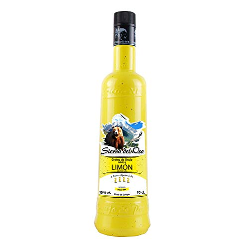 Crema de Orujo con Limón - Sierra del Oso - 3 botellas de 700 ml