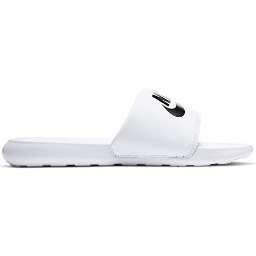 Nike VICTORI One Slide, Scarpe da Ginnastica Uomo, White/Black-White, 44 EU