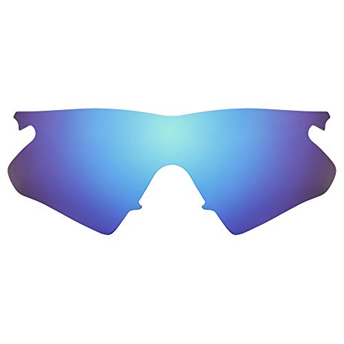Revant Lentes de Repuesto Compatibles con Gafas de Sol Oakley M Frame Heater, Polarizados, Elite Azul Hielo MirrorShield