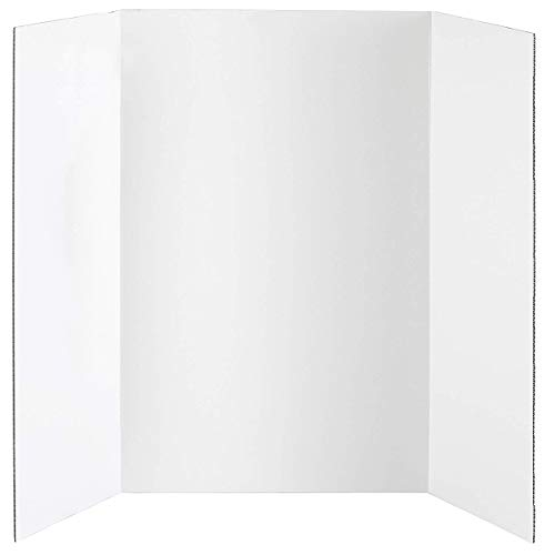 Darice, White, Display Board, Corrugated Cardboard, 36 x 48 inches, Non-Standard