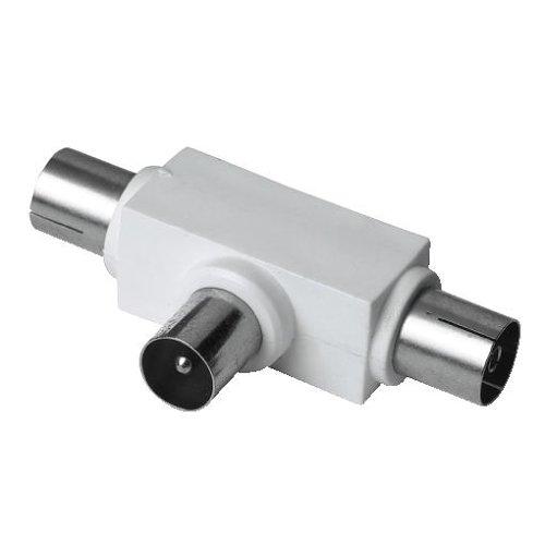 Hama Antennen-Verteiler Koax-Stecker - 2 Koax-Kupplungen