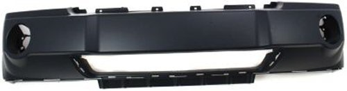 Crash Parts Plus Primed Front Bumper Cover Replacement for 2005-2007 Jeep Grand Cherokee