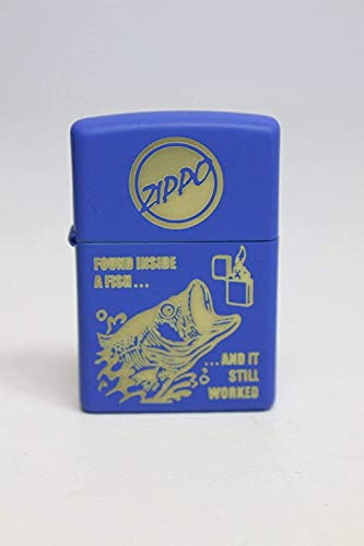 Zippo Lighters Windproof Pocket Collectors (Fish Belly)