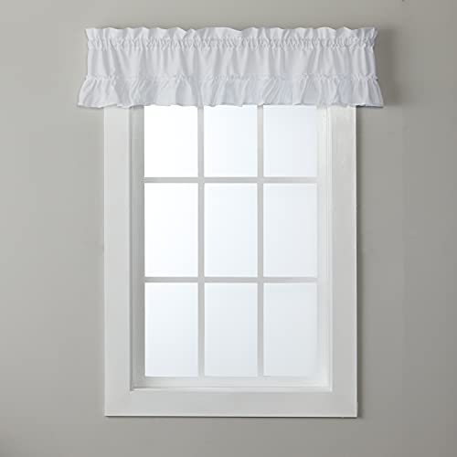 SKL Home by Saturday Knight Ltd. Sarah Valance, White, 58 inches x 10 inches