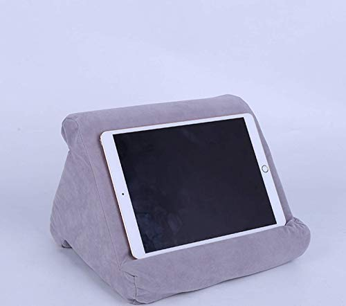 YUY Pad Pillow, Pad Pillow Stand, Book Rest,Tablet Sofa, Laptop Pillow Holder, Mini Tablet Computer Holder Tablets, E Readers, Smartphones, For Airplane