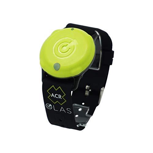 ACR OLAS Tag Man Overboeard Sistema de alerta de ubicación – rastreador de tripulación portátil (2980) (1 etiqueta de tripulación)