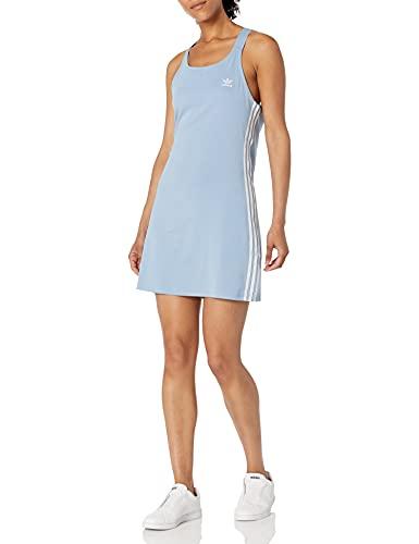 adidas Originals Women's Adicolor Classics Racerback Dress, Ambient Sky, X-Large