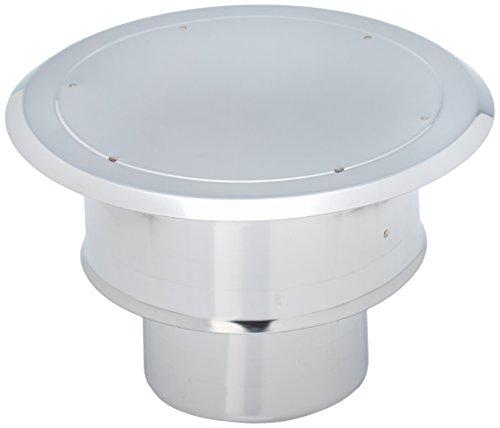 isotip-joncoux 815110Runde Hut Windschutz Apollo, Edelstahl, Durchmesser 100