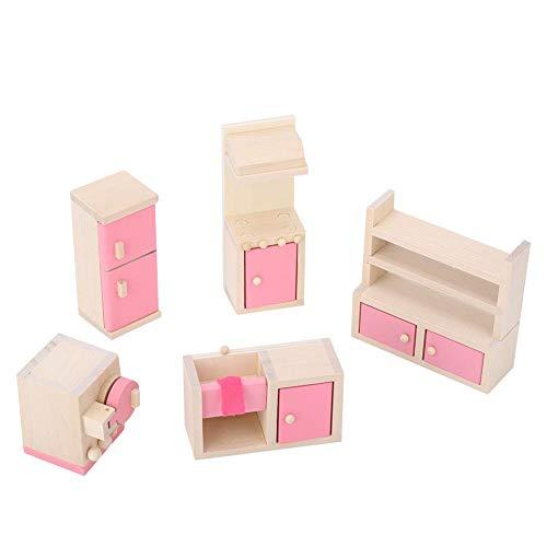 Zerodis- 1:12 Mini Juegos de Muebles de Casas de muñecas, Muebles de...