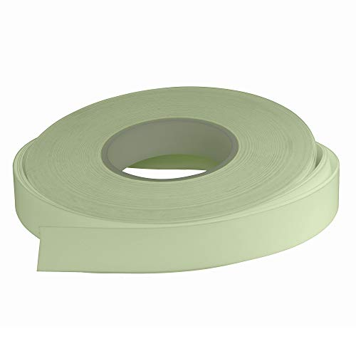Safe-T-Nose Acrylic Photoluminescent Glow-in-The-Dark Perimeter Marking Tape - 150 Foot, Long Lasting Glow, Chip Resistant