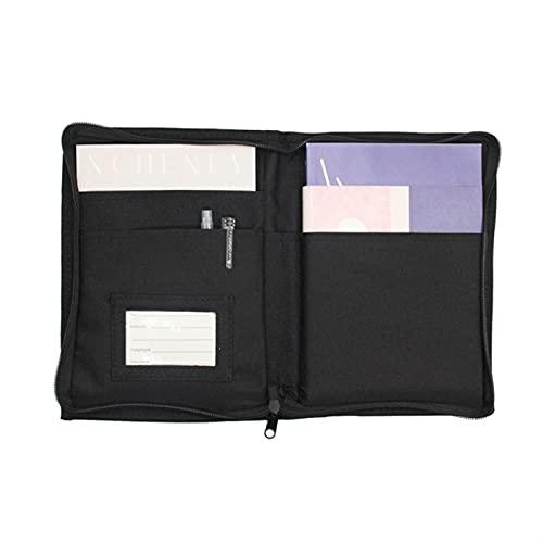 ZIHAN Feil Store Coche de Tela Oxford Multi-Bolsillo de documento portátil de Almacenamiento de la Bolsa de guantera Registro Manual Tarjeta de Almacenamiento Bolsa de Accesorios de Coches