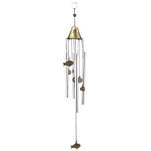 Fditt Duurzame koperlegering, voor windspellen, windspelen, belletjes, hangers, mooi, eenvoudig, tuin, buiten, ramen, hangend, decoratie, cadeau voor verjaardag