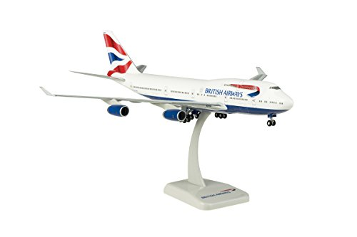 Boeing 747-400 British Airways Scale 1:200 Registration: G-CIVY