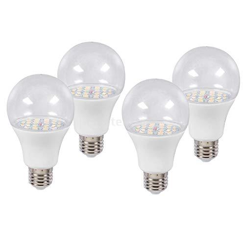 joyMerit 4 Packungen, E27 LED Zimmerpflanzen Züchten Glühbirnen Für Chrysanthemen