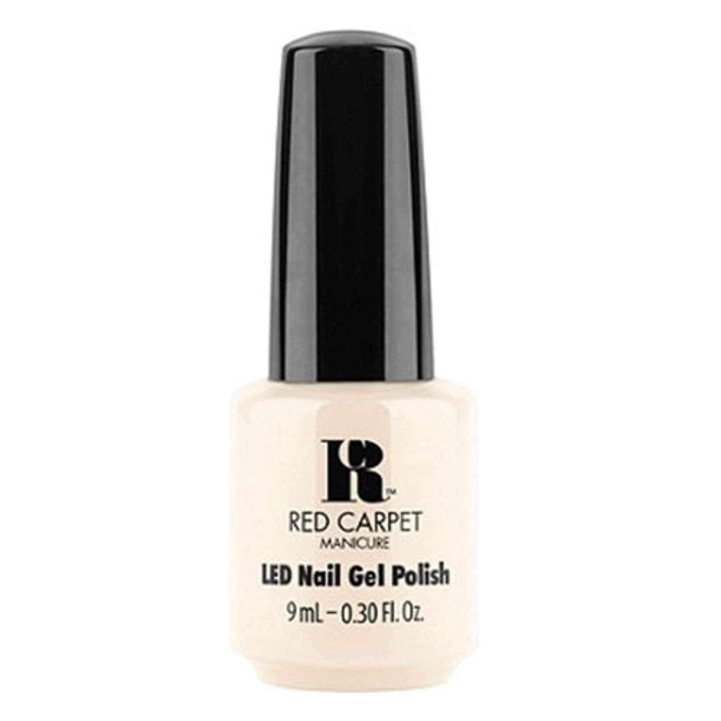 扇動する穏やかな範囲Red Carpet Manicure - LED Nail Gel Polish - First Looks - 0.3oz / 9ml