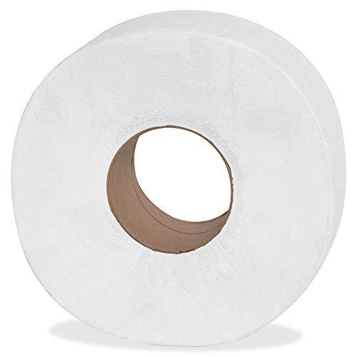 Genuine Joe 2-ply Jumbo Roll Dispnsr Bath Tissue, Model:GJO2565012