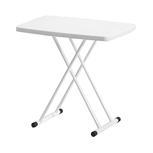 QSJY Escritorio plegable, escritorio de altura ajustable Tresanti, escritorio plegable (color: blanco, tamaño: 29.9 × 19.7 × 29.13 cm)