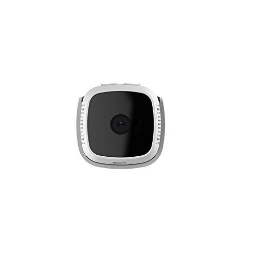 HR C9 WLAN IP Kamera Mini Kamera HD1280×720P Mini Überwachungskamera Haustier Kamera, Home und Baby Monitor mit Bewegungserkennung, 130 Grad Blickwinkel, kabellos, WLAN, Indoor Weiß
