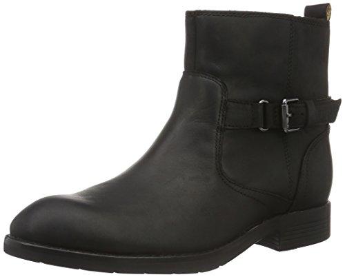 Sebago Damen Nashoba Low Boot Kurzschaft Stiefel, Schwarz (Black Leather WP), 37 EU